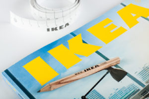IKEA matita e metro
